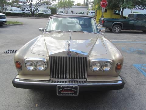 1982 Rolls-Royce Corniche for sale in Doral, FL