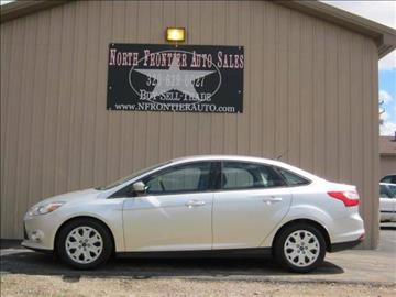 2012 Ford Focus for sale in Pine City, MN