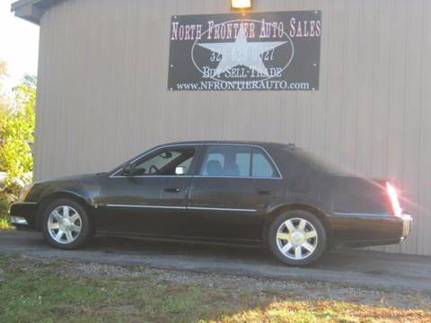 2007 Cadillac DTS for sale in Pine City, MN