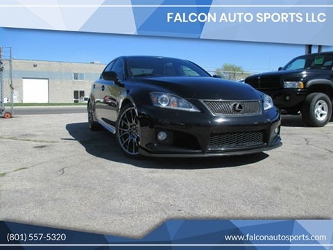 2012 Lexus IS F for sale at Falcon Auto Sports LLC in Murray UT