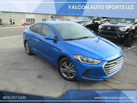 2017 Hyundai Elantra for sale at Falcon Auto Sports LLC in Murray UT