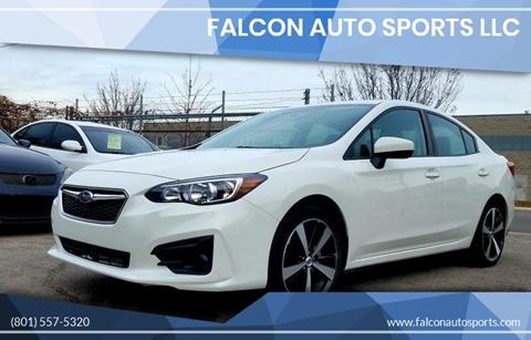 2017 Subaru Impreza for sale at Falcon Auto Sports LLC in Murray UT