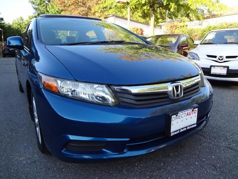 2012 Honda Civic for sale in Germantown, MD