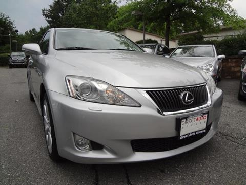 2010 Lexus IS 250 for sale in Germantown, MD