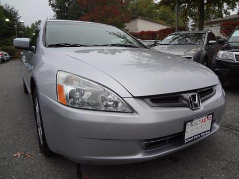 2003 Honda Accord for sale in Germantown, MD