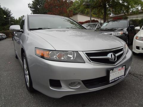 2006 Acura TSX for sale in Germantown, MD