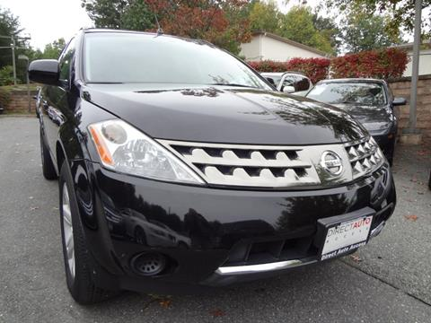 2007 Nissan Murano for sale in Germantown, MD