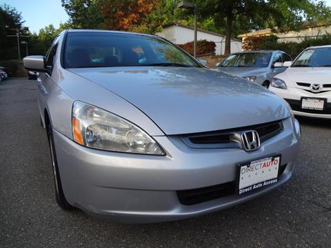 2004 Honda Accord for sale in Germantown, MD