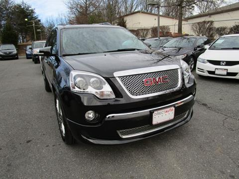 2012 GMC Acadia for sale in Germantown, MD