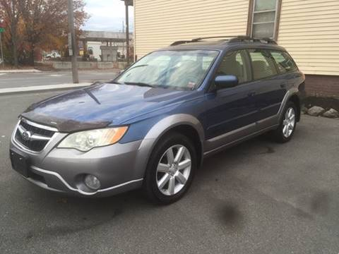 2008 Subaru Outback for sale at ADAM AUTO AGENCY in Rensselaer NY
