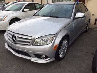 2009 Mercedes-Benz C-Class for sale at ADAM AUTO AGENCY in Rensselaer NY