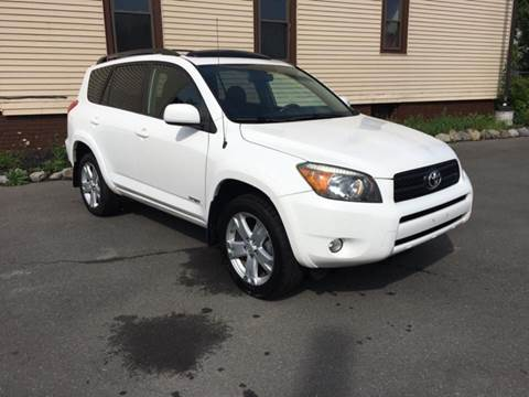 2006 Toyota RAV4 for sale at ADAM AUTO AGENCY in Rensselaer NY