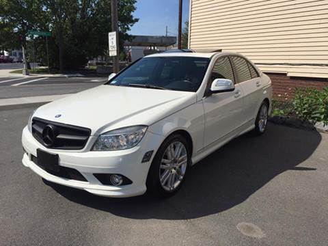 2008 Mercedes-Benz C-Class for sale at ADAM AUTO AGENCY in Rensselaer NY