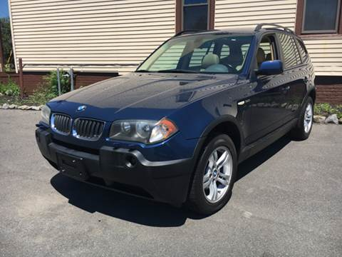 2004 BMW X3 for sale at ADAM AUTO AGENCY in Rensselaer NY