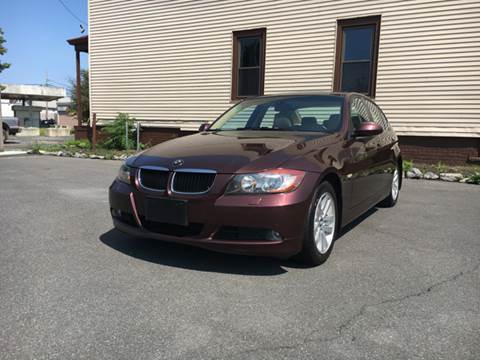 2007 BMW 3 Series for sale at ADAM AUTO AGENCY in Rensselaer NY