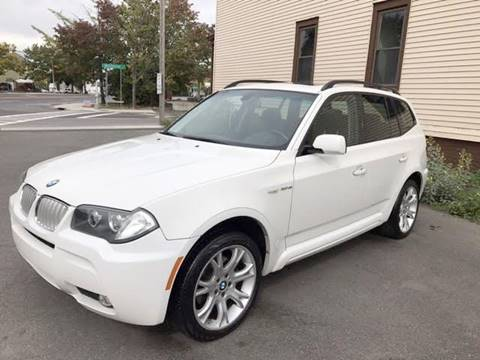 2007 BMW X3 for sale at ADAM AUTO AGENCY in Rensselaer NY