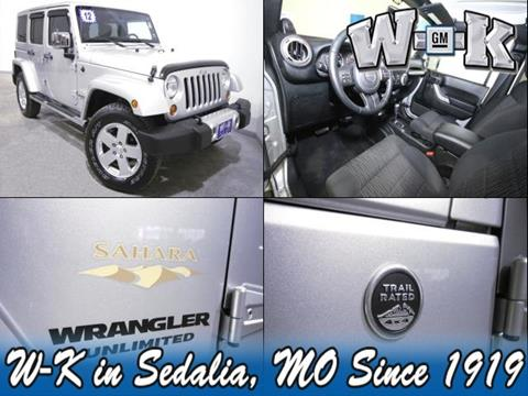 2012 Jeep Wrangler For Sale In Missouri