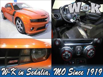 2011 Chevrolet Camaro for sale in Sedalia, MO