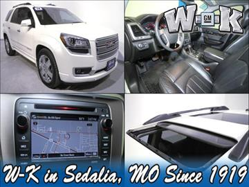2014 GMC Acadia for sale in Sedalia, MO