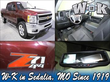 2013 Chevrolet Silverado 2500HD for sale in Sedalia, MO