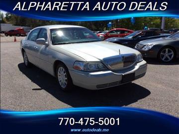 2007 Lincoln Town Car for sale in Alpharetta, GA