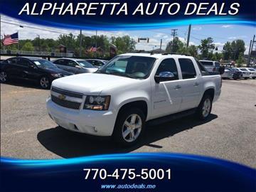 2012 Chevrolet Avalanche for sale in Alpharetta, GA