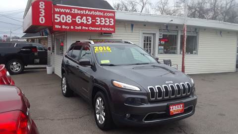 2016 Jeep Cherokee Limited for sale at Zeez Auto Sales in North Attleboro MA