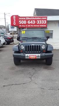 2008 Jeep Wrangler Sahara for sale at Zeez Auto Sales in North Attleboro MA
