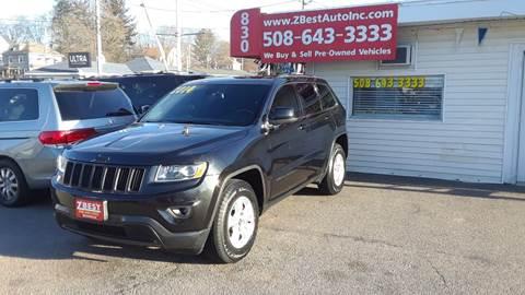 2014 Jeep Grand Cherokee Laredo for sale at Zeez Auto Sales in North Attleboro MA