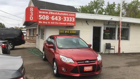 2012 Ford Focus SE for sale at Zeez Auto Sales in North Attleboro MA