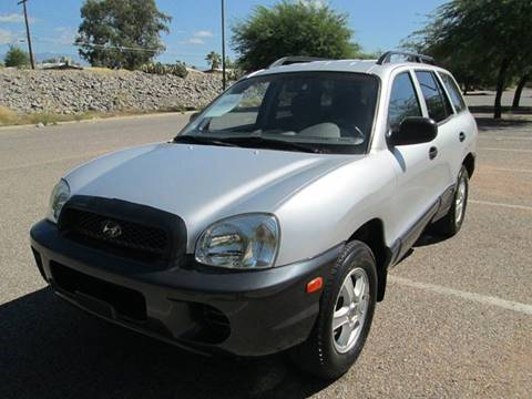 2001 Hyundai Santa Fe for sale in Tucson, AZ
