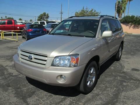 2007 Toyota Highlander for sale in Tucson, AZ