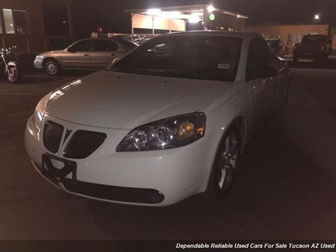 2007 Pontiac G6 for sale in Tucson, AZ