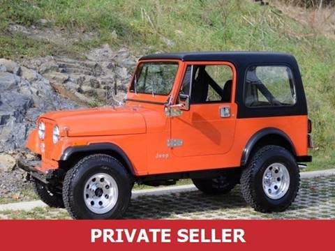1985 Jeep CJ-5 for sale in Cherry Hill, NJ