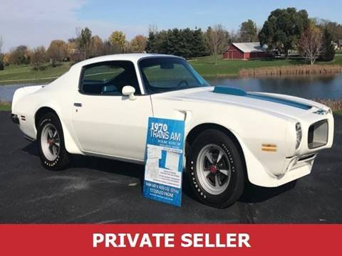 1970 Pontiac Trans Am for sale in Cherry Hill, NJ