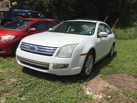 2007 Ford Fusion for sale in Bunnell, FL