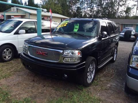 2003 GMC Yukon for sale in Bunnell, FL