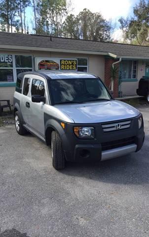 2007 Honda Element for sale in Bunnell, FL