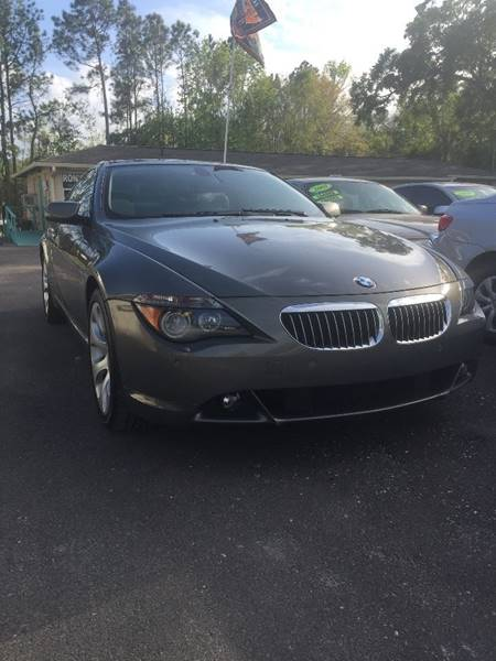 2005 Bmw 6 Series 645Ci 2dr Coupe In Bunnell FL  RONS RIDESINC