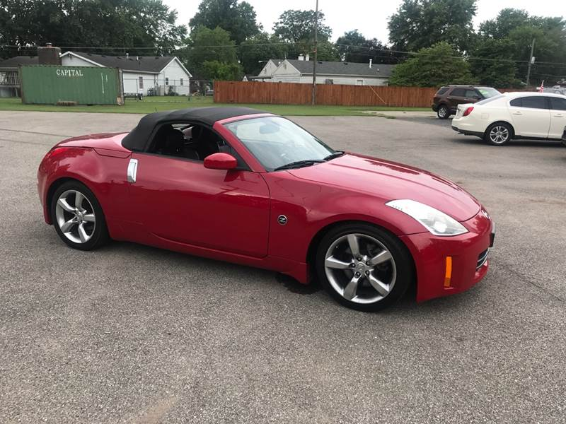 2006 Nissan 350z Grand Touring 2dr Convertible 35l V6 5a In