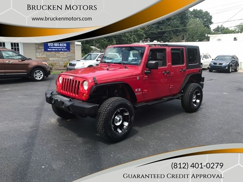 2007 Jeep Wrangler Unlimited for sale in Evansville, IN