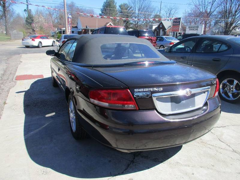 2004 Chrysler Sebring LXi 2dr Convertible - Evansville IN