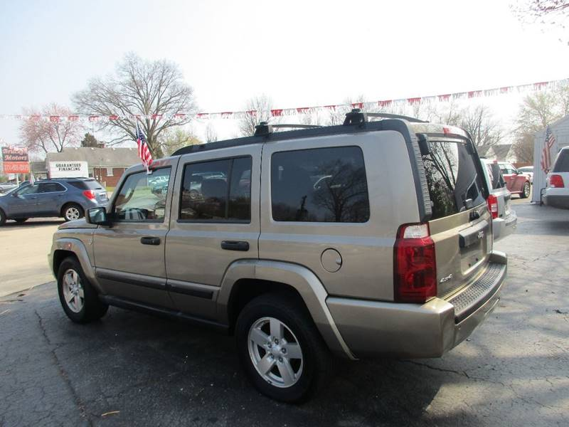 2006 Jeep Commander 4dr SUV 4WD - Evansville IN
