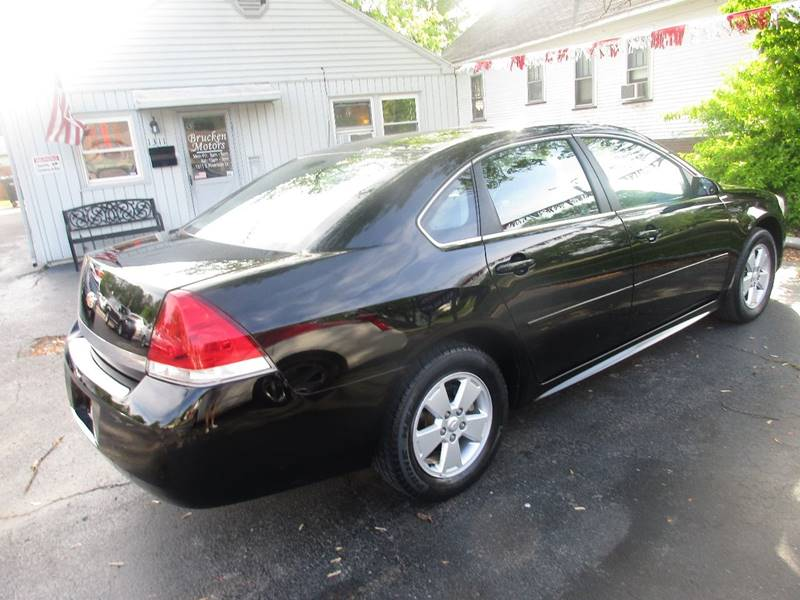 2011 Chevrolet Impala LT Fleet 4dr Sedan w/2FL - Evansville IN