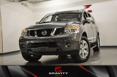 2012 Nissan Armada for sale in Union City, GA