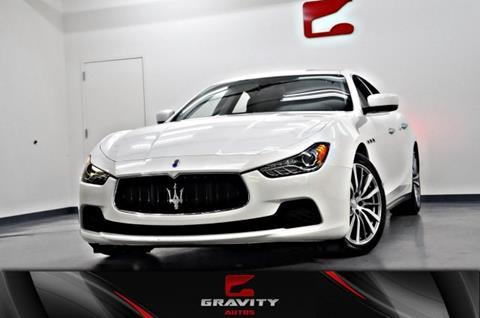 2015 Maserati Ghibli for sale in Union City, GA