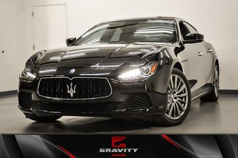 2017 Maserati Ghibli for sale in Marietta, GA