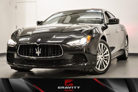 2016 Maserati Ghibli for sale in Marietta, GA