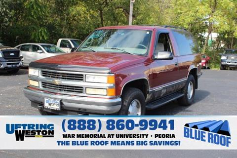 1998 Chevrolet Tahoe for sale in Peoria, IL