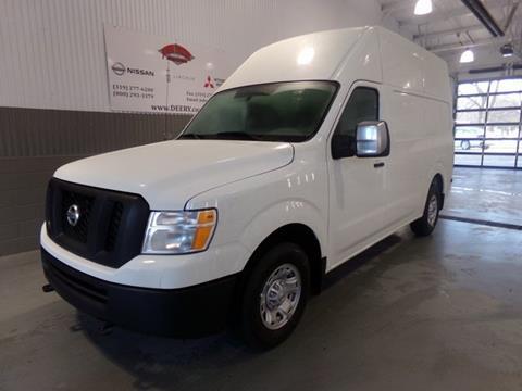 2019 Nissan NV Cargo for sale in Cedar Falls, IA